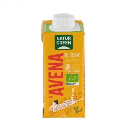 Bebida de Avena Calcio NaturGreen, 200 ml