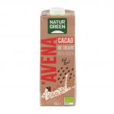 Bebida de aveia de chocolate rica cálcio NATURGREEN, 1L