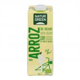 Bebida de Arroz Calcio NaturGreen, 1L
