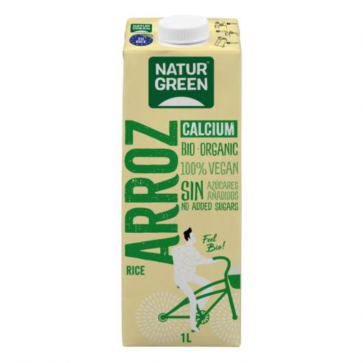 Bevanda di riso Calcio NaturGreen, 1L