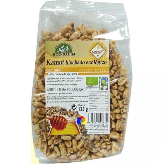 Kamut soffiato con miele Eco-Salim, 125 g