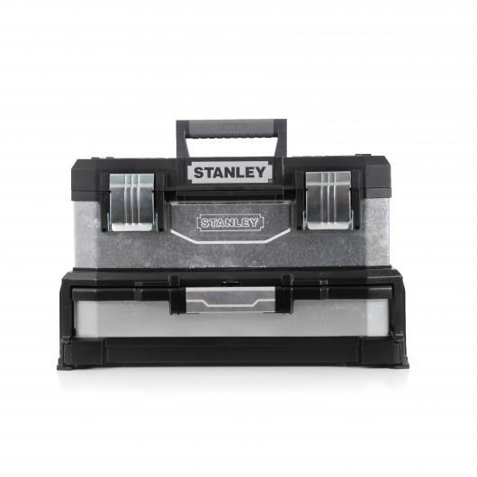 cassetta degli attrezzi galvanizzato con cassetto  Stanley