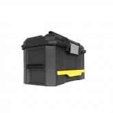 Caixa de ferramentas com gaveta de fecho automático Stanley