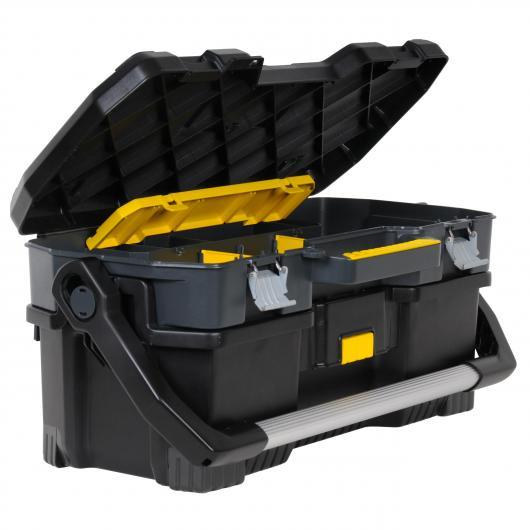 Cassa degli attrezzi con valigia per strumenti elettrici Stanley