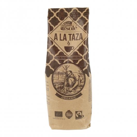Chocolate a la taza en polvo Solé, 200g.