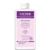 Gel suave higiene íntima Cattier, 200 ml