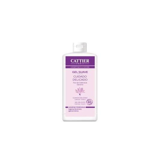Gel suave higiene íntima Cattier, 200ml