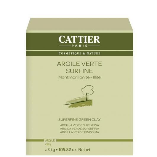 Arcilla verde Montmorillonita e Illita superfina Cattier