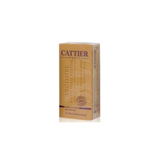 Jabón vegetal Argimel piel normal y mixta Cattier, 150 g