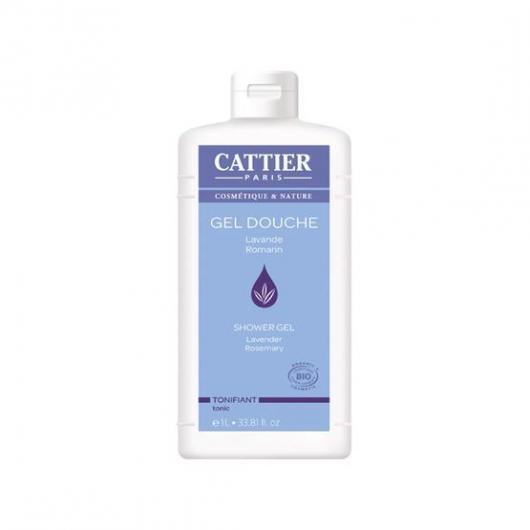 Gel de ducha tonificante Cattier, 1 L