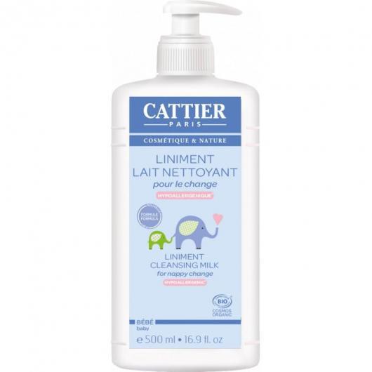 Linimento cambio pañal Cattier, 500 ml