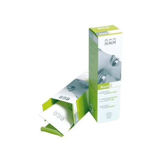 Detergente viso Tè Verde EcoCosmetics, 125ml