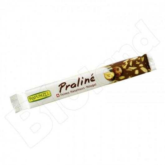 Barretta di cioccolato Praline Rapunzel, 22 g