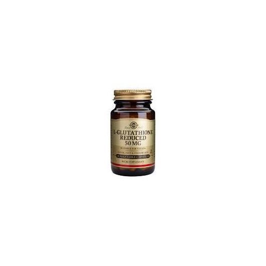L-glutatione Solgar, 50 mg 30 capsule
