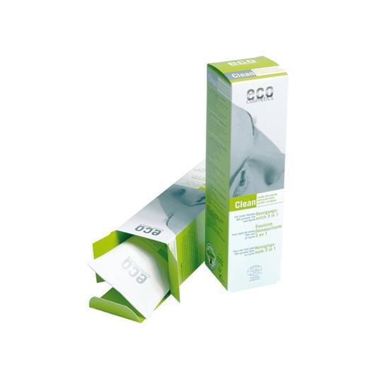 Latte detergente 3 in 1, EcoCosmetics 125 ml.