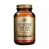 Glicina 500 mg Solgar, 100 capsule