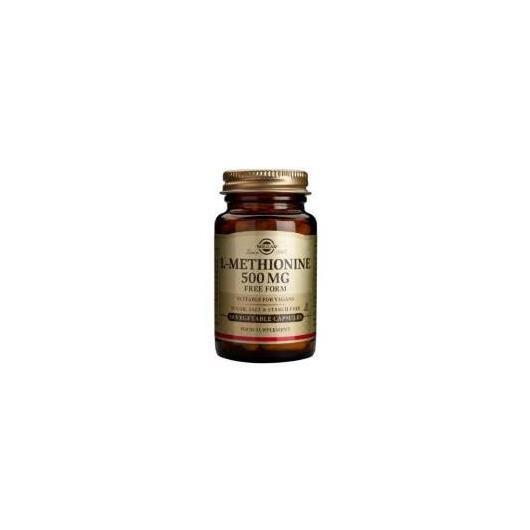 L-Metionina Solgar 500 mg 30 capsule