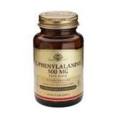 L-Fenilalanina 500 mg Solgar,  50 cápsulas