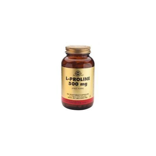 L-Prolina 500 mg Solgar, 100 cápsulas