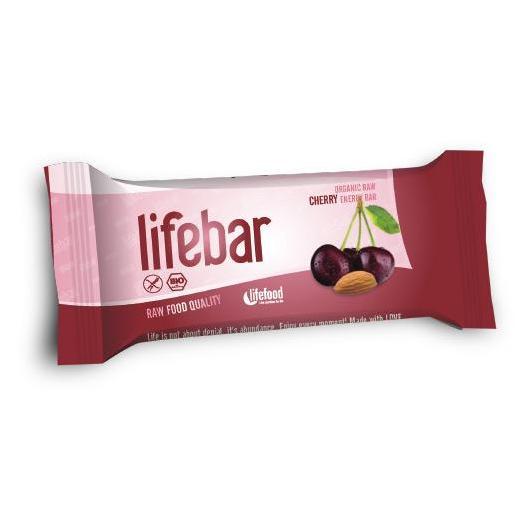 Barretta Lifebar Bio Ciliegia Lifefood, 47 g