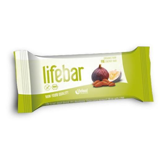 Barrita Lifebar Bio Higo Lifefood, 47 g