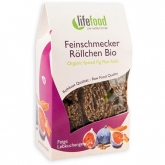 Snack Rolls Lino, Fico e spezie Bio Lifefood, 80 g