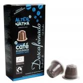Cápsulas de café descafeinado Alternativa, 10 x 5.5 g