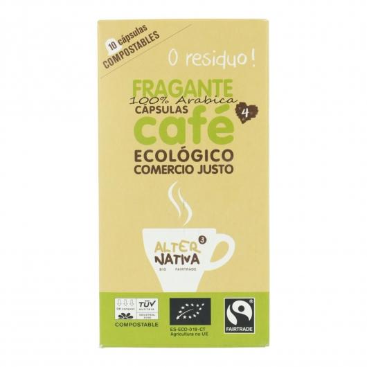 Capsule per Caffé  Fragrante Alternativa. 10 unitá 5,5gr