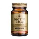Biotina 300 μg Solgar, 100 compresse