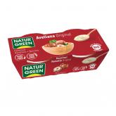 Sobremesa de avelã Naturgreen, 2 x 125 g