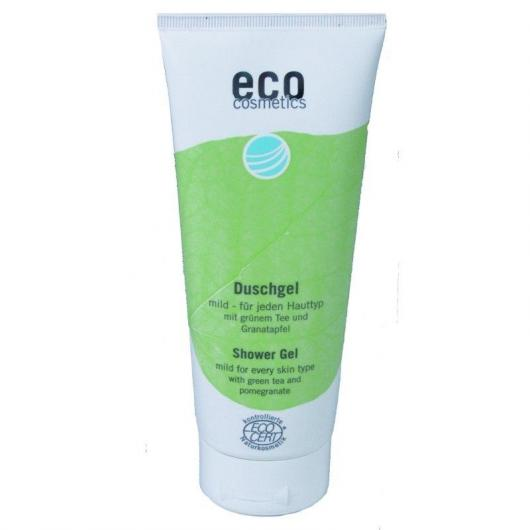 Gel doccia Tè verde e Melograno EcoCosmetics, 200 ml