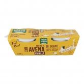 Sobremesa de aveia baunilha NaturGreen, 2 x 125 g