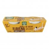 Sobremesa de aveia canela limão NaturGreen, 2 x 125 g