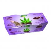 Sobremesa de hemp/cânhamo cacau Naturgreen, 2 x 125 g
