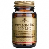 Vitamina B6 100 mg Solgar, 100 cápsulas