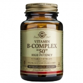 B-Complex 50 Solgar, cápsulas vegetales