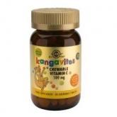 Kangavites Vitamina C 100 mg Solgar, 90 comprimidos masticables