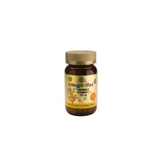 Kangavites Vitamina C 100 mg Solgar, 90 compresse masticabili