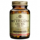 Vitamina E Seca 200 UI 134 mg Solgar, 50 cápsulas vegetales