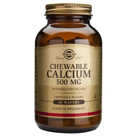 Calcio 500 mg Solgar, 60 compresse