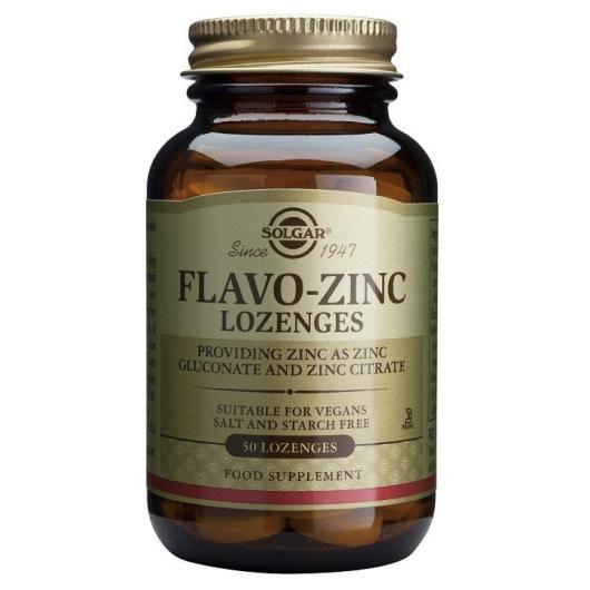 Flavo zinc Solgar  50 compresse masticabili