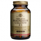 Magnésio - Cálcio Quelado 2: 1 Solgar, 90 comprimidos