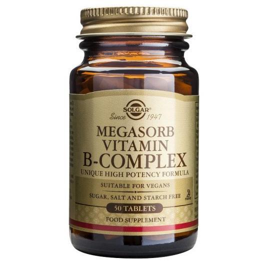 Megasorb B-Complex Solgar