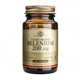 Selênio levedura 200 mg Solgar