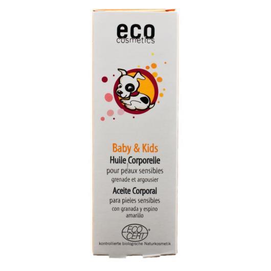 Huile pour le corps bébés et enfants, EcoCosmetics, 100 ml