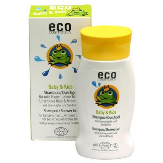 Shampoo - Gel doccia Bebè e Bambini, EcoCosmetics 200 ml