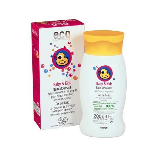 Gel de baño Bebé y niños,  EcoCosmetics 200ml