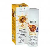 Protecteur solaire SPF 45 pour bébés et enfants, EcoCosmetics 50 ml