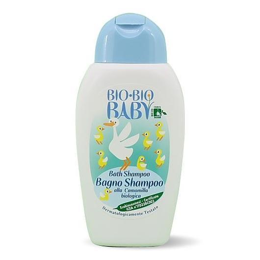 Shampooing/gel de bain à la camomille, Bio Bio 250 ml