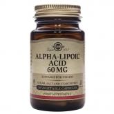 Ácido alfa-lipóico 60 mg Solgar 30 cápsulas vegetais